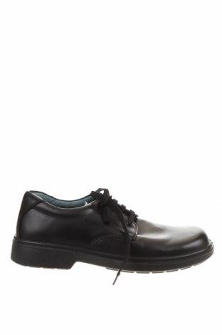 Мъжки обувки Clarks, Размер 44, Цвят Черен, Естествена кожа, Цена 55,34лв.