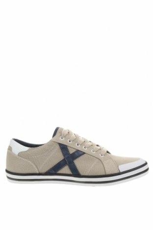 Ανδρικά παπούτσια Munich, Μέγεθος 42, Χρώμα  Μπέζ, Κλωστοϋφαντουργικά προϊόντα, Τιμή 46,01€