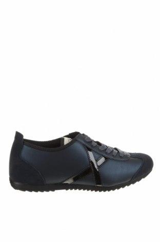 Мъжки обувки Munich, Размер 44, Цвят Син, Еко кожа, естествен велур, Цена 63,22лв.