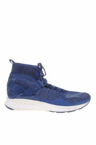 Мъжки обувки PUMA, Размер 42, Цвят Син, Еко кожа, текстил, Цена 56,70лв.