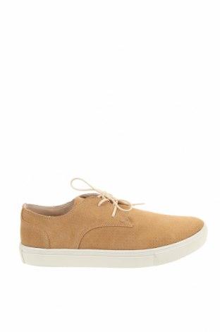 Мъжки обувки Springfield, Размер 42, Цвят Бежов, Естествен велур, Цена 81,75лв.