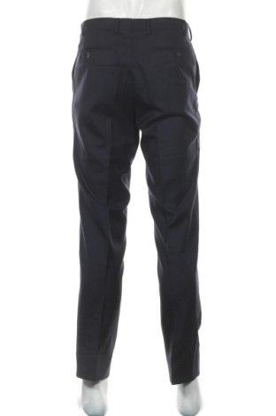 Мъжки панталон, Размер M, Цвят Син, Вълна, Цена 18,32лв.