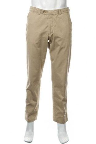 Мъжки панталон Atelier GARDEUR, Размер M, Цвят Кафяв, 97% памук, 3% еластан, Цена 15,80лв.