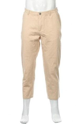 Мъжки панталон ADPT., Размер M, Цвят Бежов, Цена 27,95лв.