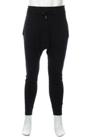 Мъжки панталон Balmain X H&M, Размер M, Цвят Син, Вълна, Цена 319,00лв.