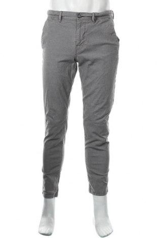 Мъжки панталон Boss Orange, Размер L, Цвят Сив, 98% памук, 2% еластан, Цена 100,80лв.