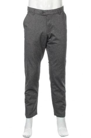 Мъжки панталон Christian Berg, Размер L, Цвят Сив, 98% памук, 2% еластан, Цена 51,75лв.