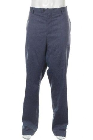 Pantaloni de bărbați Christian Berg, Mărime 3XL, Culoare Albastru, 69% poliester, 29% viscoză, 2% elastan, Preț 101,05 Lei