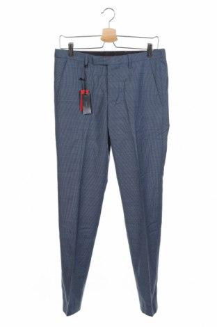 Мъжки панталон Cinque, Размер S, Цвят Син, 54% полиестер, 44% вълна, 2% еластан, Цена 22,26лв.