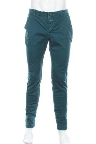 Мъжки панталон Closed, Размер M, Цвят Зелен, 98% памук, 2% еластан, Цена 35,28лв.