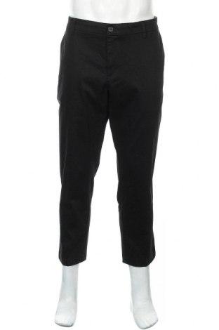 Мъжки панталон Dockers, Размер XL, Цвят Черен, 98% памук, 2% еластан, Цена 26,93лв.