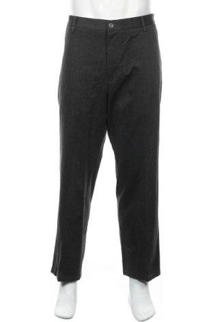 Мъжки панталон Dockers, Размер XL, Цвят Сив, 76% памук, 23% полиестер, 1% еластан, Цена 32,92лв.