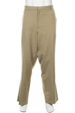 Мъжки панталон Dockers, Размер XXL, Цвят Бежов, 62% полиестер, 33% вискоза, 5% еластан, Цена 26,93лв.