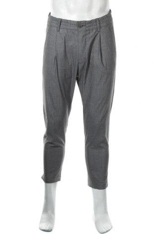 Мъжки панталон Drykorn for beautiful people, Размер M, Цвят Сив, 69% полиестер, 29% вискоза, 2% еластан, Цена 46,20лв.