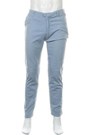 Мъжки панталон Drykorn for beautiful people, Размер M, Цвят Син, 98% памук, 2% еластан, Цена 30,14лв.