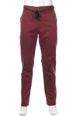 Pantaloni de bărbați Eleven Paris, Mărime XL, Culoare Roșu, Bumbac, Preț 62,26 Lei