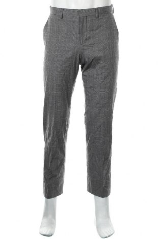 Мъжки панталон Express, Размер S, Цвят Сив, 64% полиестер, 34% вискоза, 2% еластан, Цена 12,60лв.