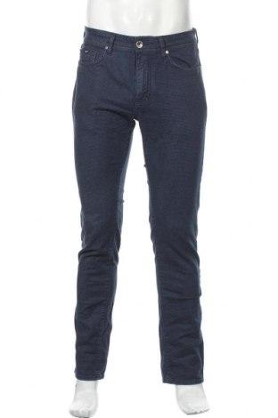 Мъжки панталон Gas, Размер M, Цвят Син, 97% памук, 3% еластан, Цена 13,86лв.
