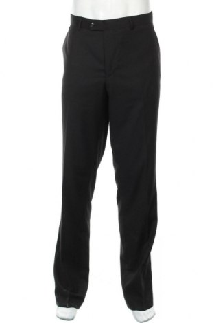 Ανδρικό παντελόνι Man's World, Μέγεθος L, Χρώμα Μαύρο, 65% πολυεστέρας, 35% βισκόζη, Τιμή 26,68€