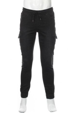 Pantaloni de bărbați Only & Sons, Mărime M, Culoare Negru, 75% bumbac, 24% poliester, 1% elastan, Preț 113,49 Lei