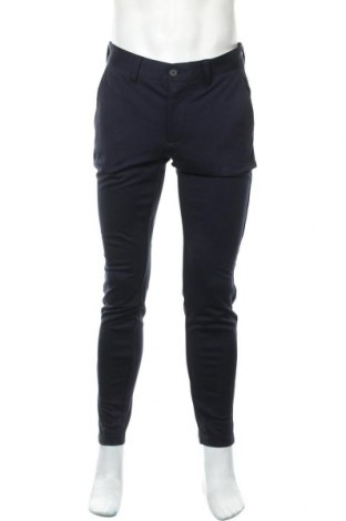 Pantaloni de bărbați Only & Sons, Mărime M, Culoare Albastru, 64% viscoză, 31% poliester, 5% elastan, Preț 48,54 Lei
