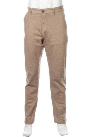 Pantaloni de bărbați Review, Mărime XL, Culoare Bej, 98% bumbac, 2% elastan, Preț 157,90 Lei