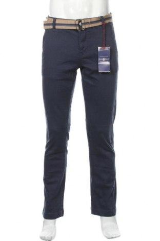 Мъжки панталон Rhode Island, Размер M, Цвят Син, 98% памук, 2% еластан, Цена 32,43лв.