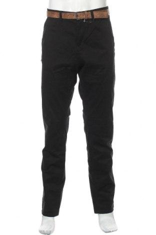 Pantaloni de bărbați Tom Tailor, Mărime L, Culoare Negru, 97% bumbac, 3% elastan, Preț 194,90 Lei