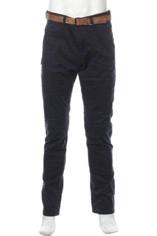 Ανδρικό παντελόνι Tom Tailor, Μέγεθος M, Χρώμα Μπλέ, 97% βαμβάκι, 3% ελαστάνη, Τιμή 34,41€