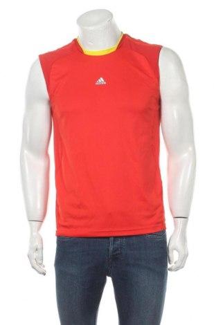 Ανδρική αμάνικη μπλούζα Adidas, Μέγεθος M, Χρώμα Κόκκινο, Πολυεστέρας, Τιμή 12,47€