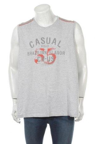 Ανδρική αμάνικη μπλούζα Charles Vogele, Μέγεθος 3XL, Χρώμα Γκρί, Τιμή 9,25€