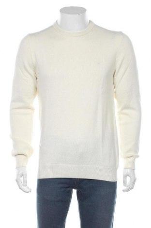 Pánský svetr  Christian Berg, Velikost M, Barva Krémová, 80% bavlna, 20% vlna, Cena  321,00Kč