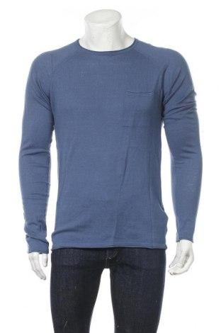 Pánský svetr  Mr. F, Velikost M, Barva Modrá, Bavlna, Cena  211,00Kč