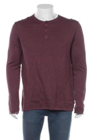 Ανδρικό πουλόβερ Q/S by S.Oliver, Μέγεθος XL, Χρώμα Κόκκινο, Βαμβάκι, Τιμή 23,12€