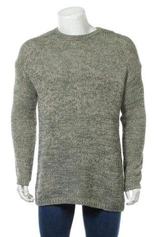 Pánský svetr  Review, Velikost L, Barva Zelená, 42%acryl, 38% bavlna, 20% polyamide, Cena  285,00Kč