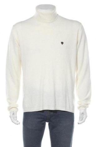 Мъжки пуловер Sir Raymond Tailor, Размер L, Цвят Екрю, 50% памук, 45% акрил, 5% полиамид, Цена 34,75лв.