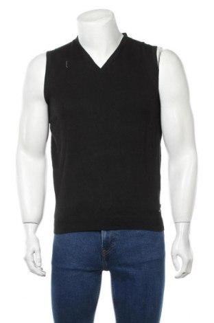 Pulover de bărbați Tom Tailor, Mărime M, Culoare Negru, 60% bumbac, 40% viscoză, Preț 52,20 Lei