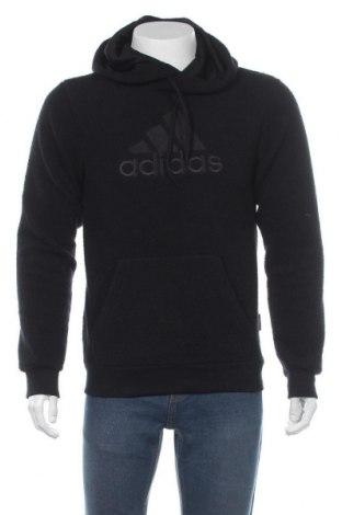 Hanorac de bărbați Adidas, Mărime S, Culoare Negru, Poliester, Preț 244,25 Lei