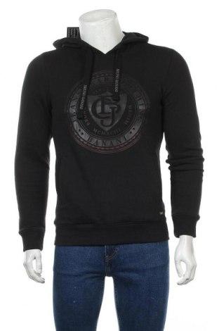 Мъжки суичър Bruno Banani, Размер S, Цвят Черен, 60% памук, 40% полиестер, Цена 35,55лв.