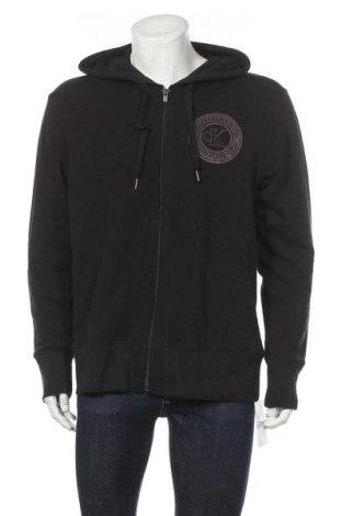 Мъжки суичър Calvin Klein, Размер L, Цвят Черен, 95% памук, 5% еластан, Цена 94,17лв.
