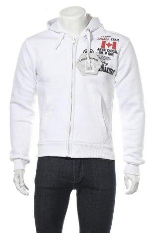 Мъжки суичър Canadian Peak, Размер M, Цвят Бял, 65% памук, 35% полиестер, Цена 55,18лв.