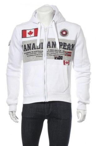 Мъжки суичър Canadian Peak, Размер L, Цвят Бял, 65% памук, 35% полиестер, Цена 42,32лв.