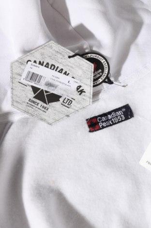 Мъжки суичър Canadian Peak, Размер L, Цвят Бял, 65% памук, 35% полиестер, Цена 70,31лв.