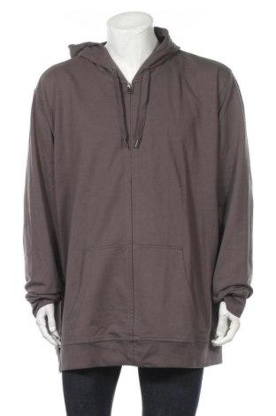 Мъжки суичър Kubler, Размер 5XL, Цвят Сив, 50% памук, 50% полиестер, Цена 43,40лв.