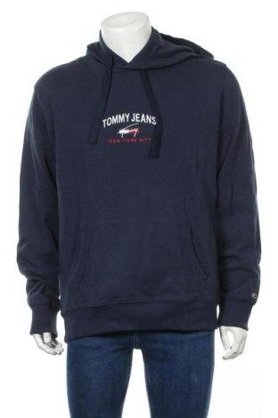 Мъжки суичър Tommy Hilfiger, Размер XL, Цвят Син, 97% памук, 3% еластан, Цена 81,20лв.