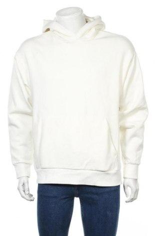 Мъжки суичър Weekday, Размер XS, Цвят Екрю, 80% памук, 20% полиестер, Цена 31,13лв.