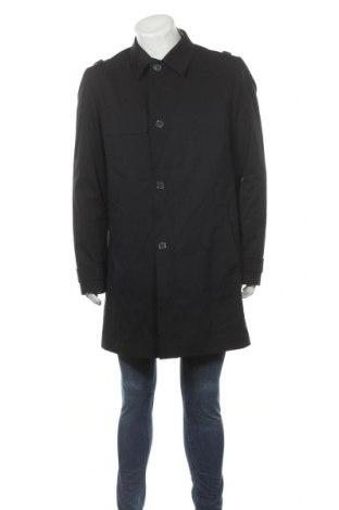Pánský kabát  Hugo Boss, Velikost L, Barva Černá, 97% bavlna, 3% elastan, Cena  5146,00Kč
