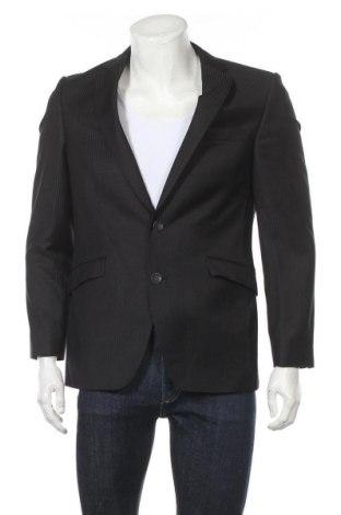 Мъжко сако, Размер M, Цвят Черен, 65% полиестер, 35% вискоза, Цена 7,09лв.