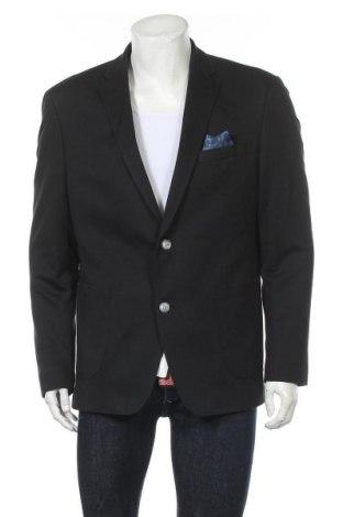 Мъжко сако Bugatti, Размер XL, Цвят Черен, Цена 181,30лв.