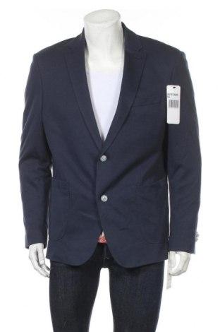Мъжко сако Bugatti, Размер XL, Цвят Син, 70% памук, 30% полиамид, Цена 168,35лв.